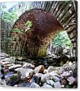 The Gorge Trail Stone Bridge Acrylic Print