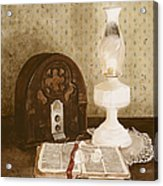 The Gospel Hour Acrylic Print by Monte Toon