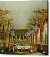 The Gothic Dining Room At Carlton House Acrylic Print