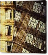 Surrealism At The Grace Building New York Acrylic Print