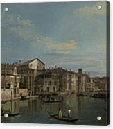 The Grand Canal In Venice Acrylic Print