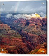 The Grand Canyon After The Storm Acrylic Print
