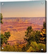The Grand Canyon Vintage Americana Iv Acrylic Print