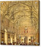 The Grand Hall, Biddington, Surrey Acrylic Print