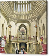 The Grand Staircase, Windsor Castle Acrylic Print
