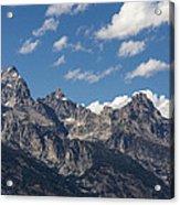 The Grand Tetons - Grand Teton National Park Wyoming Acrylic Print