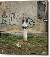 The Grave City Acrylic Print by Frederic Vigne