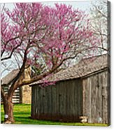 The Gray Campbell Farmstead Acrylic Print