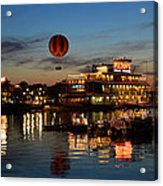 The Great And Powerful Oz Over Downtown Disney Acrylic Print