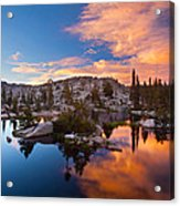 The Great Divide Acrylic Print