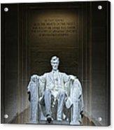 The Great Emancipator Acrylic Print