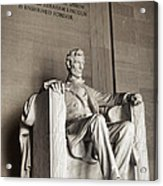 The Great Emancipator Acrylic Print by Olivier Le Queinec