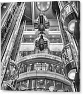 The Great Glass Elevators Acrylic Print