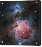 The Great Orion Nebula Acrylic Print