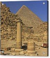 The Great Pyramids Giza Egypt  Acrylic Print by Ivan Pendjakov