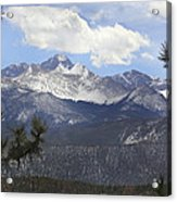 The Rocky Mountains - Colorado Acrylic Print by Mike McGlothlen