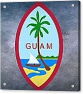 The Great Seal Of Guam Territory Of Usa  Acrylic Print