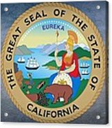 The Great Seal Of The State Of California Acrylic Print