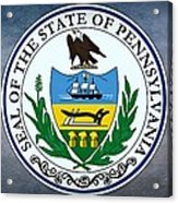 The Great Seal Of The State Of Pennsylvania  Acrylic Print