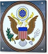 The Great Seal Of The United States  Acrylic Print