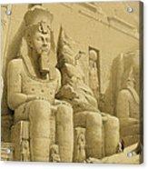 The Great Temple Of Abu Simbel Acrylic Print