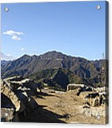 The Great Wall 858 Acrylic Print