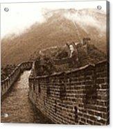 The Great Wall Acrylic Print