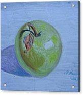 The Green Apple Acrylic Print
