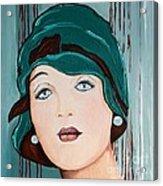 Green Cloche Acrylic Print