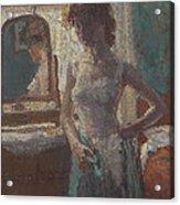 The Green Dress, 1908-09 Acrylic Print