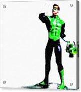 The Green Acrylic Print