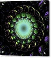 The Green Hole Acrylic Print