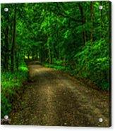 The Green Mile Acrylic Print by Paul Herrmann