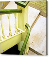 The Green Stairwell Acrylic Print