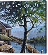 The Green Tree Acrylic Print