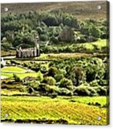 The Green Valley Of Poisoned Glen Acrylic Print