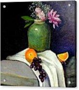 The Green Vase Acrylic Print