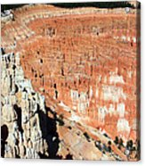 The Grotto At Bryce Canyon Acrylic Print
