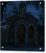 The Grotto By Moonlight Acrylic Print