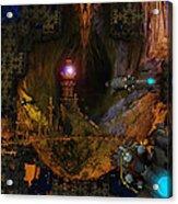 The Grottos Echo Acrylic Print
