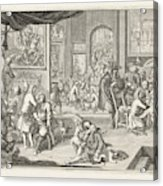 The Guild Of Surgeons The Workshop, 1731 Acrylic Print