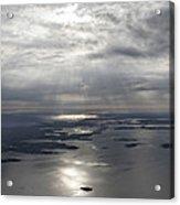 The Gulf Of Morbihan, Saint Colombier Acrylic Print