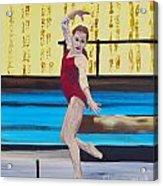 The Gymnast Acrylic Print