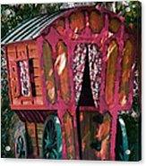 The Gypsy Caravan  Acrylic Print