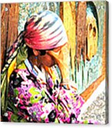 The Gypsy Acrylic Print