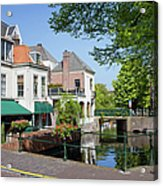 The Hague In The Netherlands Acrylic Print