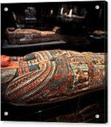 The Hall Of Ancient Egypt Mummy Room Acrylic Print