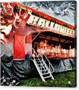 The Halloween Ride Acrylic Print