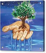 The Hand Of The Lord Acrylic Print