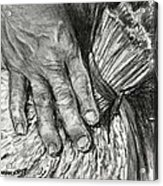 The Hand That Feeds Us Acrylic Print